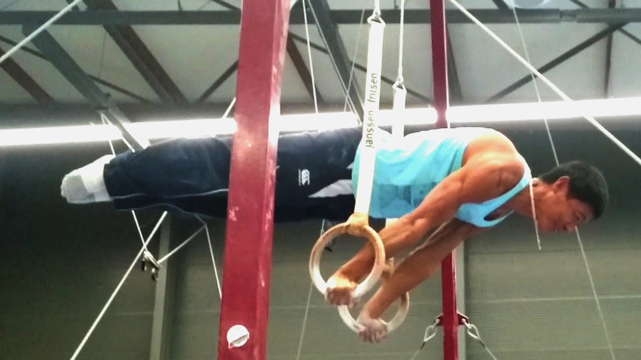 52 Year Old does Full Planche on Rings!!! - YouTube
