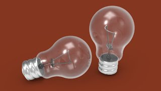 making 3D bulb with filament in AutoCAD