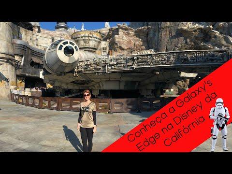 Conheça a área de Star Wars | Disneyland - Parte 1| Vlog Califórnia #6