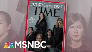 connectYoutube - Time Names Its 2017 Person Of The Year: Silence Breakers | Morning Joe | MSNBC