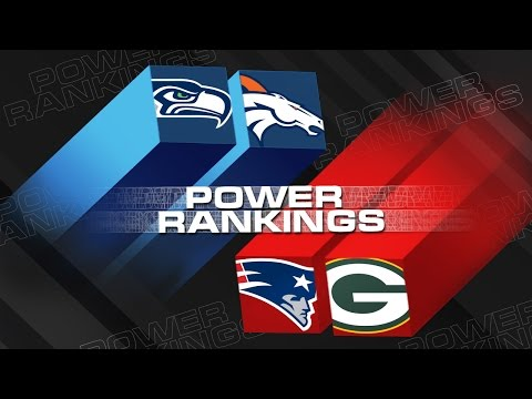 Power Rankings (Wild Card Weekend) | Are The Seahawks Poised For Another Super Bowl Run?  | NFL Now