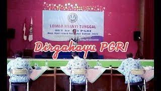Kereeen.. Lagu Dirgahayu Pgri Lomba Porseni Pgri Tingkat Kab. Cilacap 2018
