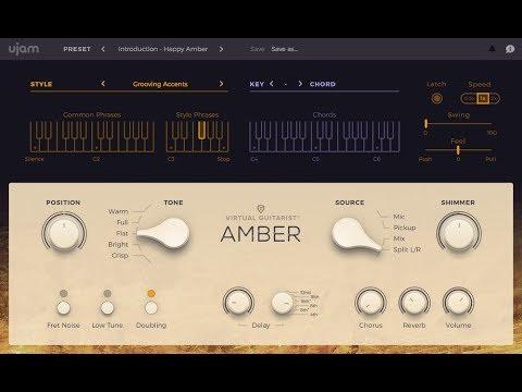 UJAM Virtual Guitarist AMBER - Demo