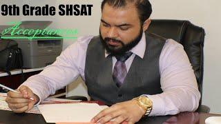 9th Grade SHSAT: Stuyvesant & Brooklyn Tech Accepted| Ace the 9th Grade SHSAT| Bobby-Tariq Tutoring