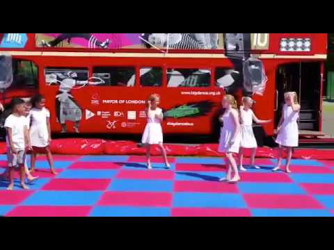 Big red bus performance