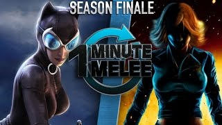 One Minute Melee - Catwoman vs Black Widow