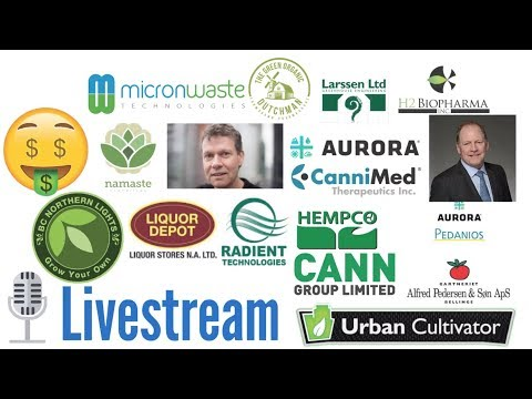 Questions And Answers Live Stream About Aurora stocks