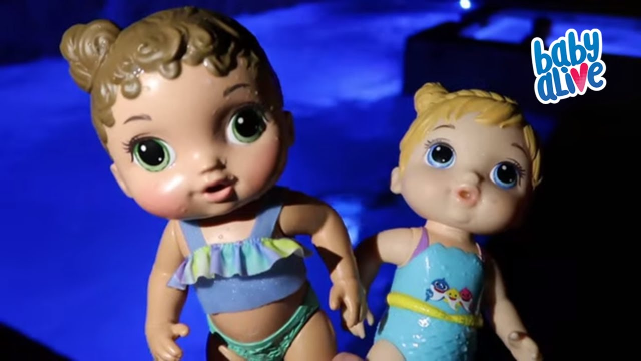 BABY ALIVE Night Time Routine with Baby Alive Channel Maddy and Elsa