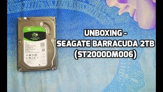 Seagate BarraCuda 2TB (ST2000DM006) - Unboxing
