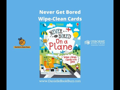 Never Get Bored On A Plane Cards - Usborne Books & More - YouTube