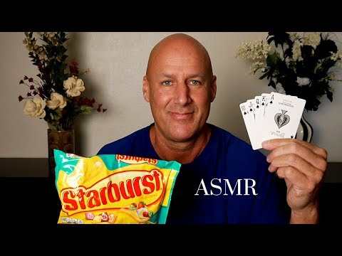 ASMR: Solitaire Starburst And Swedish Fish~Whisper~Ear To Ear