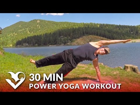30 Minute Power Yoga Workout w/ Sean Vigue - Yoga for Strength Exercises for Men & Women