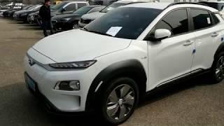 hyundai Kona electric 64 KW - Корейская Tesla на аукционе