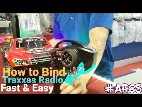 How to BIND and Factory RESET Traxxas radio