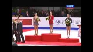 видео Julia LIPNITSKAIA Чемпионат Европы по фигурному катанию 2014, Будапешт