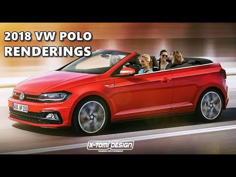 2018 volkswagen sedan. brilliant sedan 2018 vw polo rendered as sedan cabrio alltrack r on volkswagen sedan