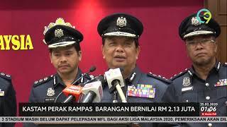 Rokok & Arak Seludup Bernilai RM 2.13 Juta Dirampas