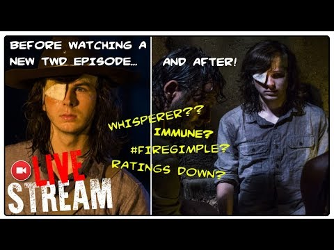THE WALKING DEAD CONTROVERSY! Fire Gimple? Immune? Whisperers?