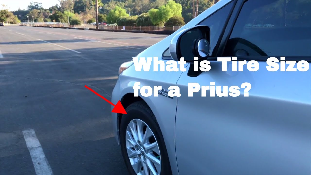 Superb What Is Toyota Prius Tire Size?