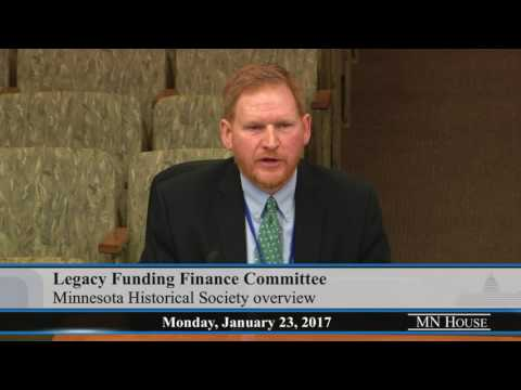 House Legacy Funding Finance Committee  1/23/17