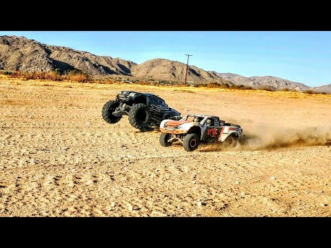 RC OffRoad MayHem Featuring The TRAXXAS X-Maxx Vs UDR Its Track Day