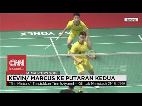 Kevin - Marcus Melaju Mulus; Hasil-hasil Indonesia Master 2018