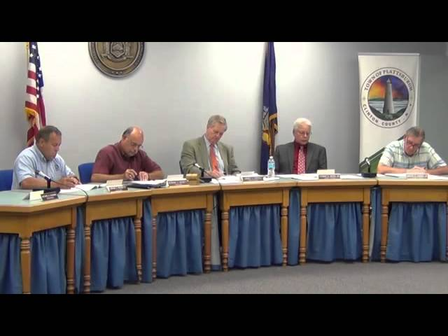 2014 07 07 Town of Plattsburgh Meeting