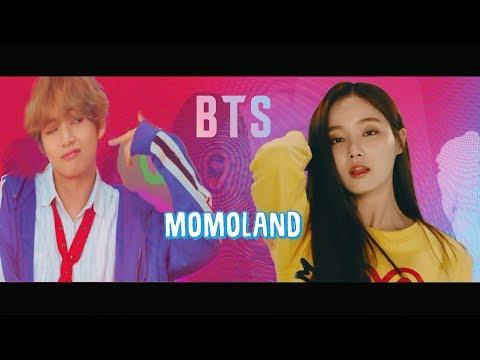 [Mashup] BTS- DNA & Momoland- Boom Boom Dance Ver.