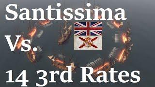 NTW (Santissima Vs. 14 3rd Rates)