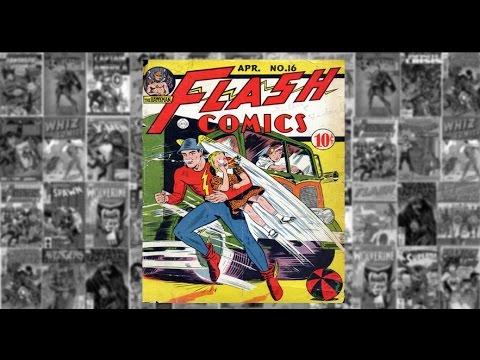 "Flash Comics: #16, ""Joan Is Kidnapped"""