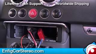 Radio installation Audi TT 1999-2006