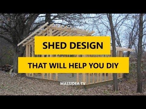 40+ Best Shed Design Ideas That Will Help You DIY A Shed 2017