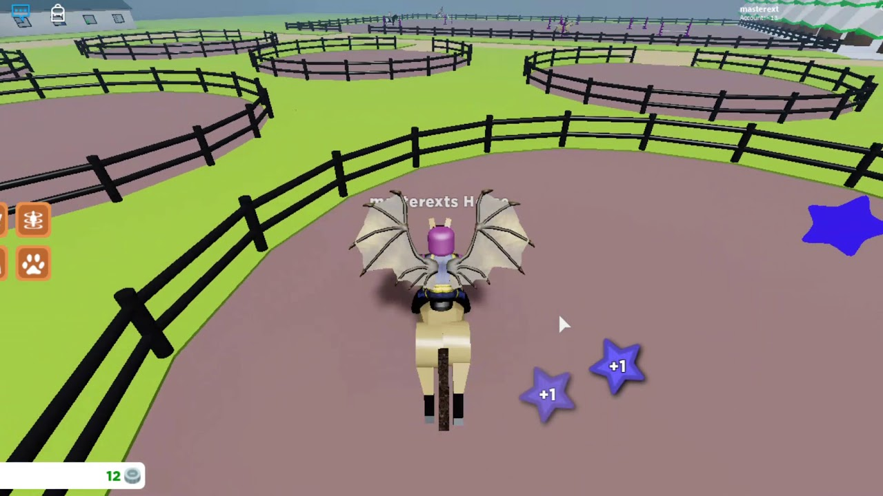 Roblox Horse Riding Simulator 1 The Start Of A Noob W
