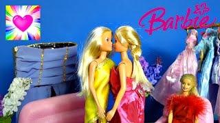 Барби Салон #7 Штеффи и ее Сестра Близнец Играем в Куклы Барби Мода Видео для Девочек для Детей