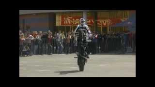 Легенда мотоспорта Крис Пфайфер в Киеве