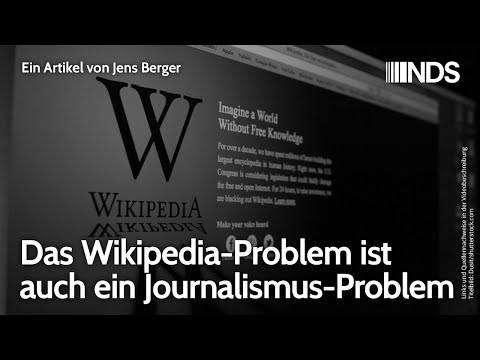 Das Wikipedia-Problem ist auch ein Journalismus-Problem
