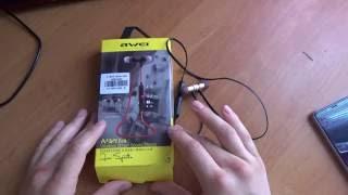 Awei A920BL блютуз навушники з aliexpress.Огляд.Інструкція