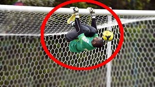 vuclip Top 10 Acrobatic Goalkeepers Saves