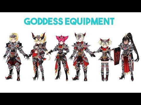 Dragon Nest Korea - Goddess Equipment Part - 1