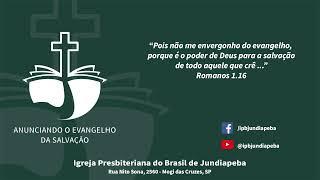 IPBJ | Culto Vespertino: Mc 10.46-52 | 14/06/2020