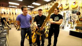 Arctic Monkeys at Norman's Rare Guitars