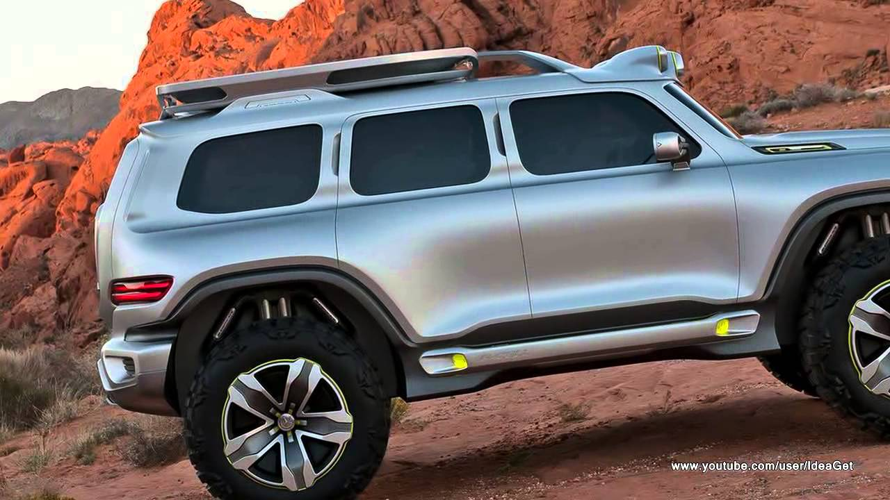 2012 Mercedes Benz Ener G Force Suv Concept Youtube