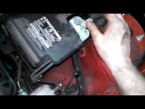 Alternator replacement 2006 2007 Ford Focus Install Remove Replace How to