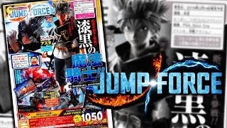 JUMP FORCE: Asta & Black Clover OFFICIAL IN GAME SCAN!