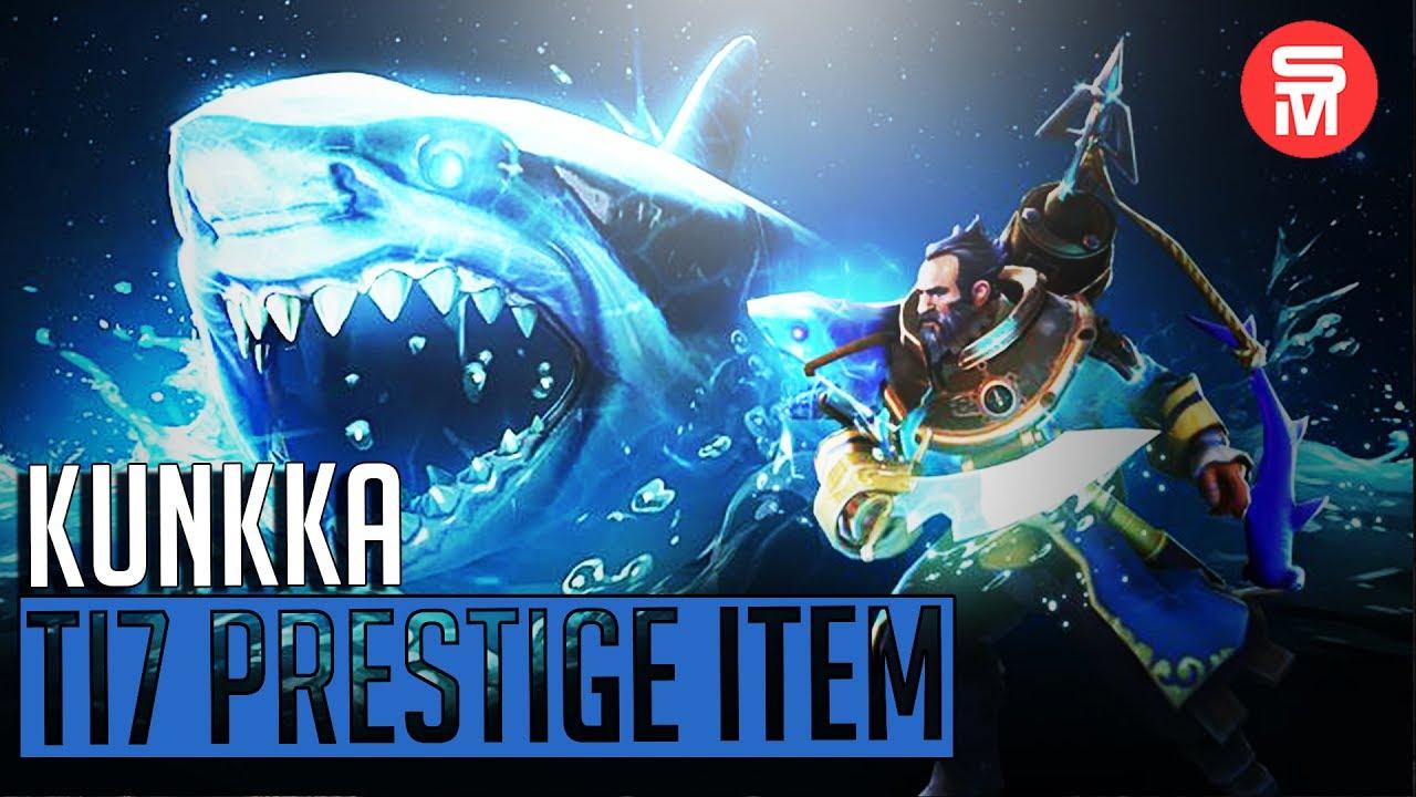 Kunkka Immortal Prestige Item Shark Boat Ultimate Dota