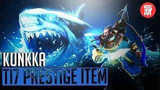 Shark Set Kunkka Dota 2