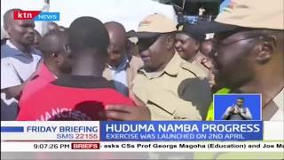 Anyang\' Nyong\'o and Fred Matiang\'i register for Huduma Namba in Kisumu