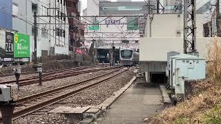 [5000形2021年初の増備!] 5055f(各駅停車新宿行き)町田駅発車