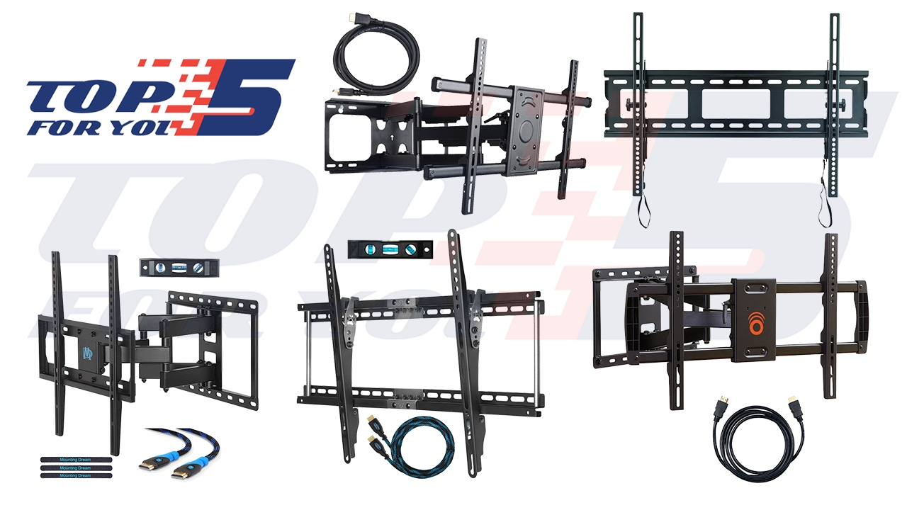 10 best tv wall mount bracket reviews top 5 best tv wall