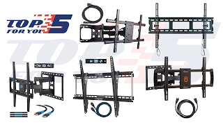 Top 5 Best TV Wall Mounts of 2017 - 2018